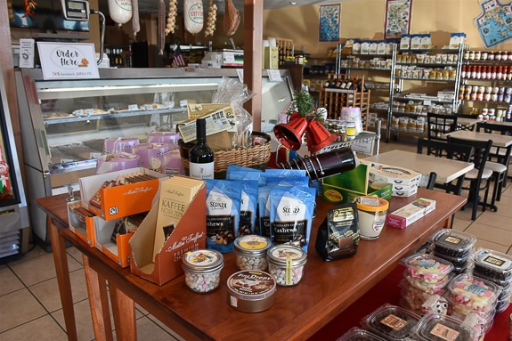 So many different items to choose from at Piccolo Deli in Sarasota, FL