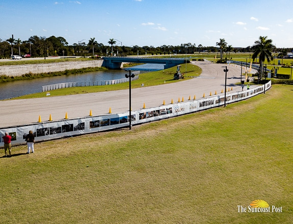 THE FENCE is at Nathan Benderson Park in Sarasota, FL