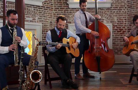 The Bailsmen Bring Gypsy Jazz to Fogartyville in Sarasota, FL