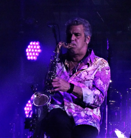 Saxophonist Mark Rivera played at the Billy Joel concert in Tampa