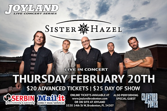 Look Who's Coming to Play at Joyland Country Music Night Club in Bradenton, FL!