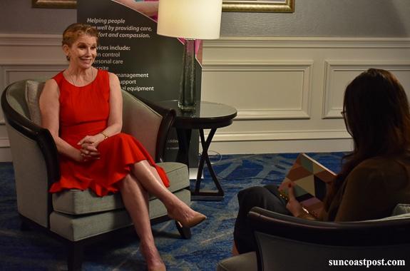 Melissa Gilbert Talks To The Suncoast Post On Children's Hospice Care