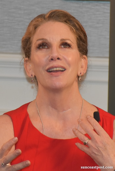 Melissa Gilbert is a strong children's hospice advocate.