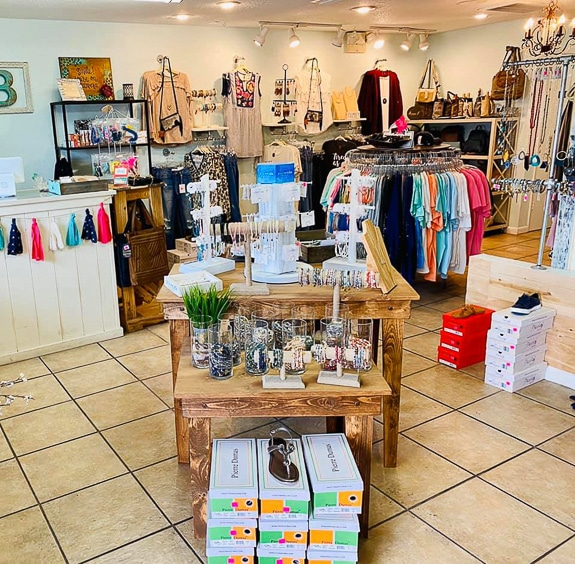 The Lace Buckle Boutique in downtown Palmetto, FL