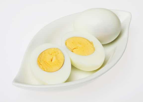 Eggs should be cooked thoroughly.