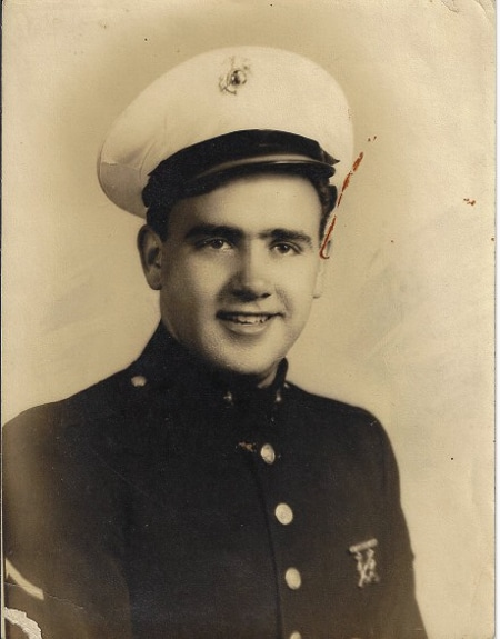 """Private Michael Lawrence """"Mick"""" Fitzpatrick, USMS, WWII"""