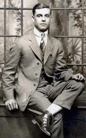 Private William E. Baker, US Army, WWI
