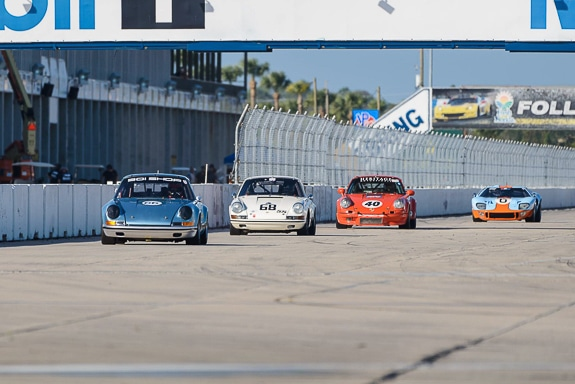 Sebring hosts a pair of historic race car events in March, here are some competitors from Historic Sports Car Racing on the 3.72 mile circuit.