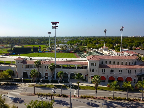 Ed Smith Stadium in Sarasota, FL