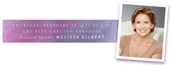 Melissa Gilbert is the Keynote Speaker for the 11th Annual Tidewell Hospice Signature Luncheon.