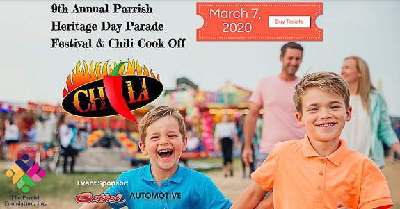 Parrish Heritage Day Parade & Chili Cook Off