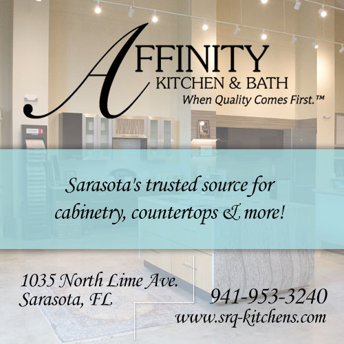 Affinity Kitchen & Bath - Sarasota's trusted source for cabinetry, countertops & more!