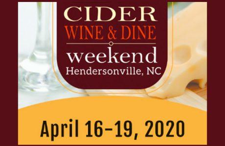 Hendersonville, North Carolina's April Showers Bring You 'Cider, Wine and Dine Week-end'