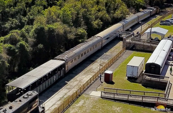 The Florida Train Museum offers train rides.
