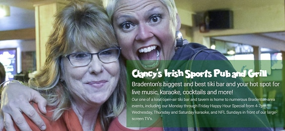 Clancy's Irish Sports Pub of Bradenton Downsizes St. Paddy's Day Event