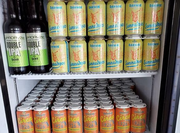 Darwin Brewing Company of Bradenton, Florida Selling Cases of Beer at Wholesale Prices