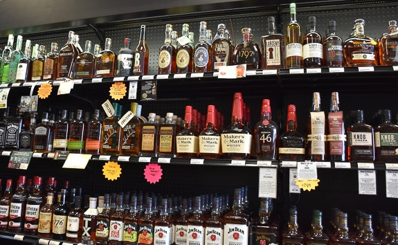 Hurricane Liquors has a wide selection of spirits on Anna Maria Island, FL