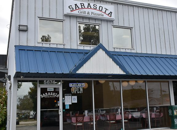 Now Open! Sarasota Grill & Pizzeria on Palmer Blvd. in Sarasota