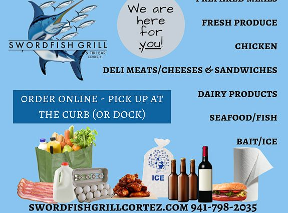 Swordfish Grill & Tiki in Cortez, Florida Taking Care of Staff & the Community