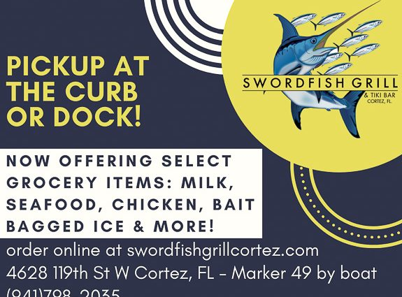 """Swordfish Grill in Cortez, Florida Offering """"Grocery"""" Items"""