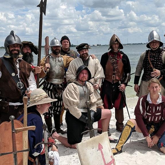 81st Annual De Soto Landing Event in Bradenton, FL