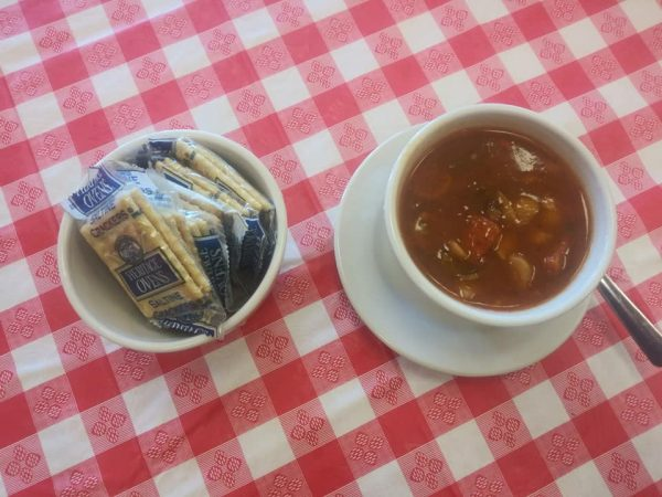 Soup from Sarasota Grill & Pizzeria