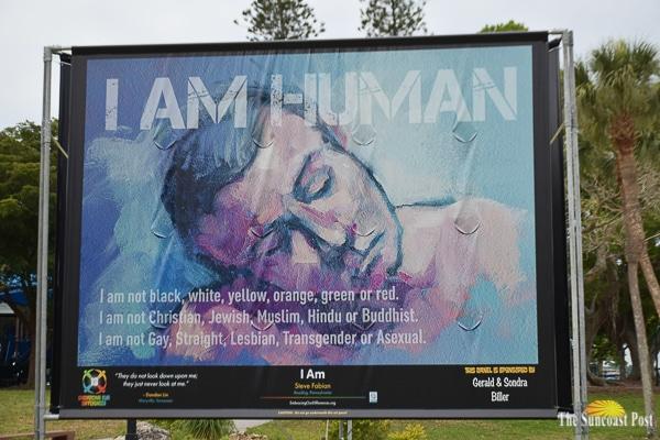 Bayfront Park artwork -Embracing our Differences-