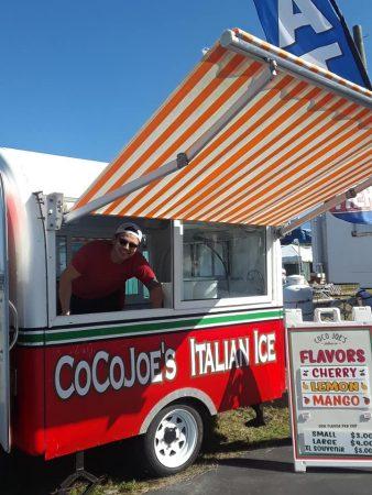 Coco Joe's Italian Ice Mobile truck