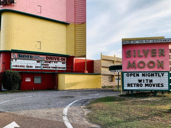 Lakeland's Silver Moon Drive-in provides wonderful entertainment and you don't have to leave your car (except for the concession stand of course).