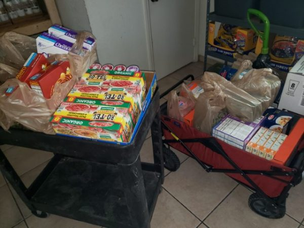 The Hungers End food pantry