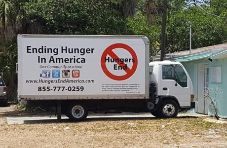The Hungers End truck