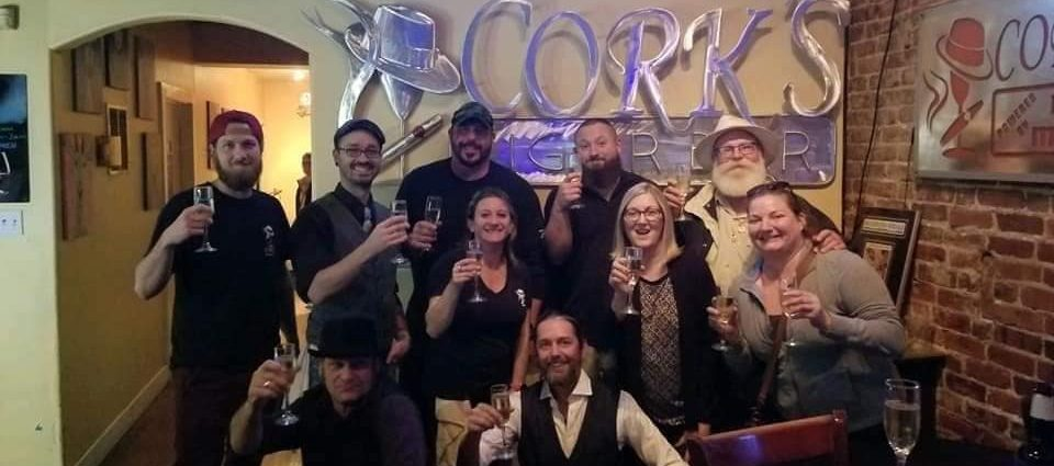Cork's Cigar Bar in Bradenton