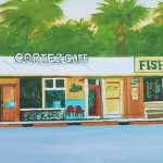 Front of the building of Cortez Cafe