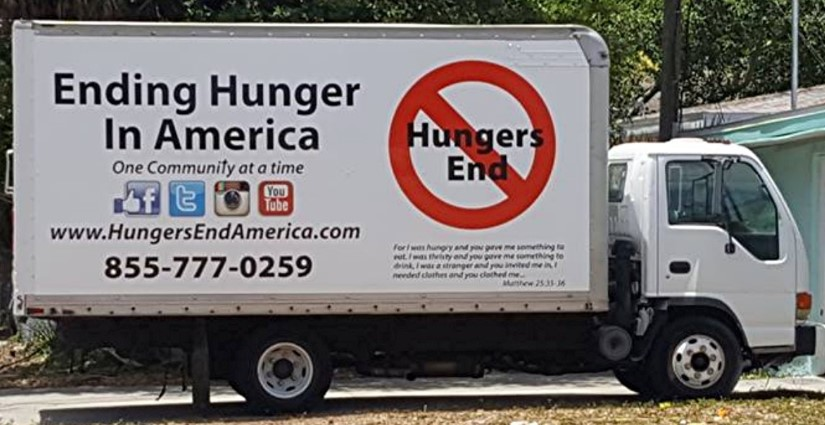 Hungers End Truck