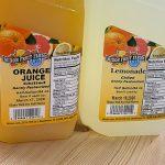 orange juice and lemonade from mixon fruit farm