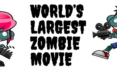 world's largest zombie movie