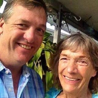 Bob and his mom, Ellen