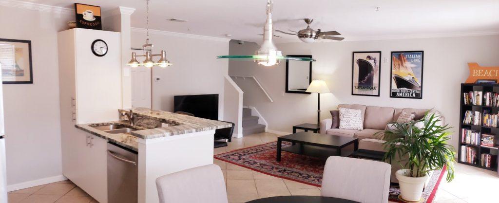 Interior of Sarasota home for sale