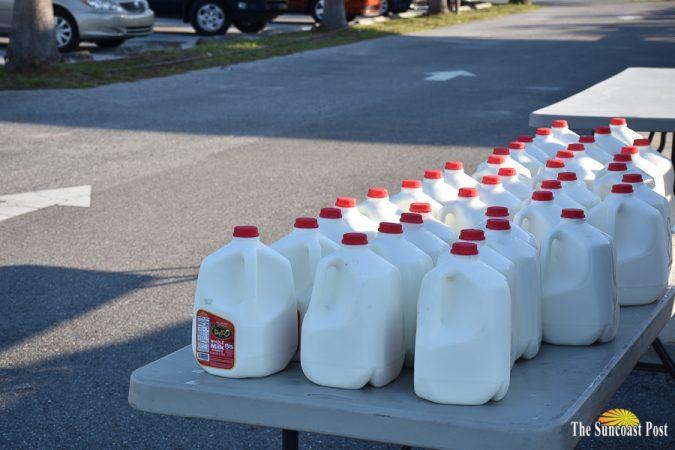 Milk from Dakin Dairy