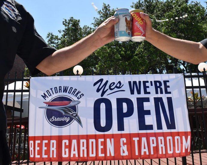 motorworks brewing is open