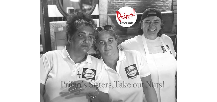 primo ristoranteTake-Out Nuts