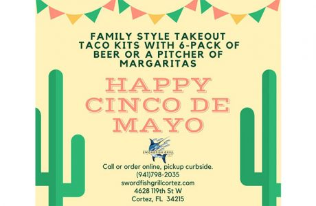 cinco de mayo at swordfish grill & tiki