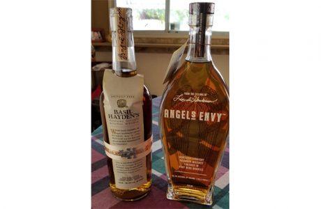 two bottle of bourbon