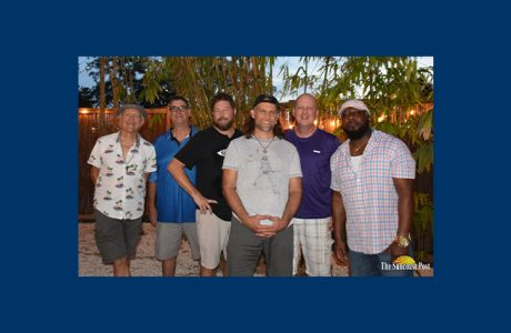 van wezel virtual happy hour with kettle of fish band