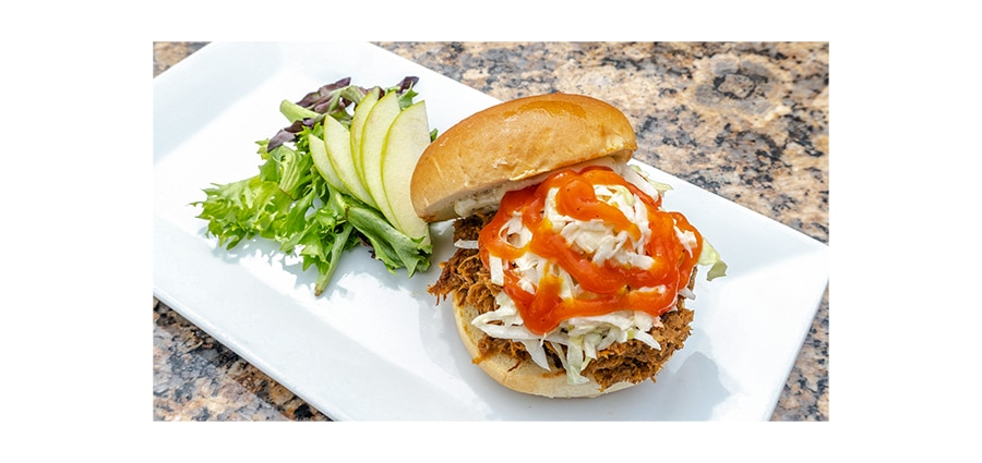 Mattison's pulled pork sandwich and fishing charter contest