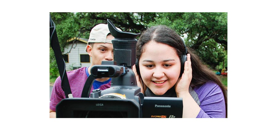 Students at Sarasota Film Festival Virtual Film Camp