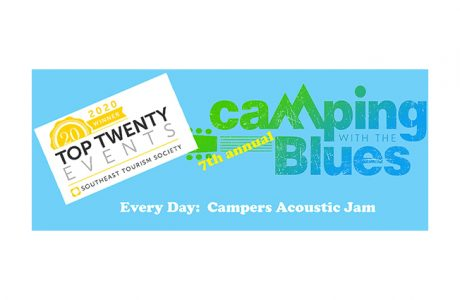 camping with the blues wins award