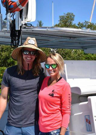 Lance and Erin of Florida Fishing Fleet