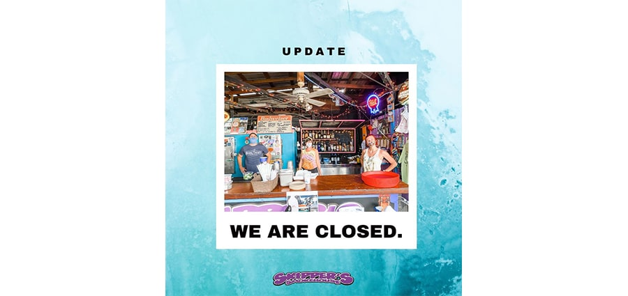 skipper's smokehouse is closed