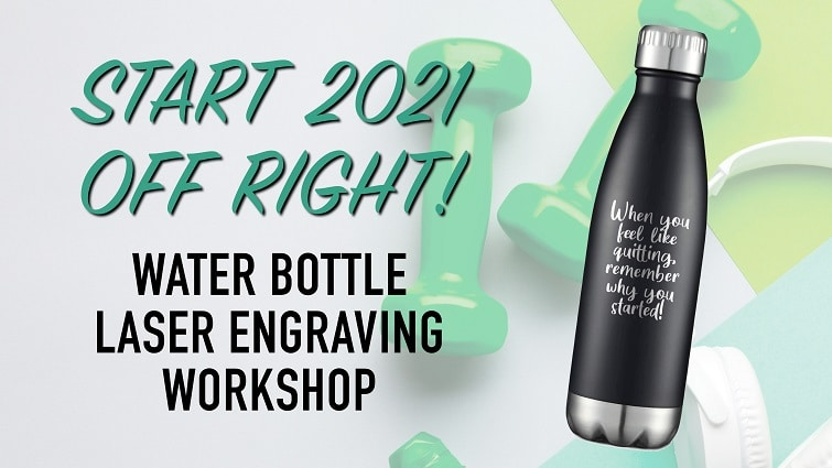 Water Bottle Engraving